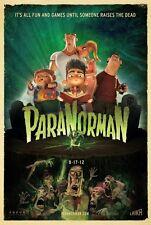 "PARANORMAN 2012 Original DS 2 Sided 27x40"" US Movie Poster Anna Kendrick Affleck"