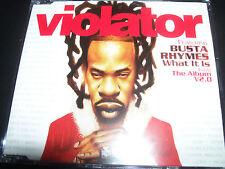 Violator Feat Busta Rhymes What It Is Australian CD Single