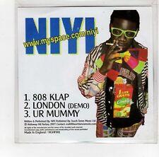 (GI308) Niyi, 808 Klap - 2007 DJ CD