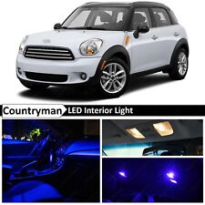 15x Blue LED Light Interior Package Kit Fit 2011-2014 MINI Cooper Countryman S