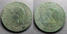 Napoléon III, 5 centimes 1855 D