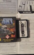 Skyrunner Commodore c64 casete (box, manual, Tape) 100% aceptar (cascade, 1986)