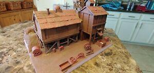 Custom built On30 Mine Diorama Scene