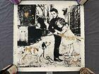 Mr Brainwash Pup Art Gold Print xx/10 **SIGNED w/ Thumbprint** MBW