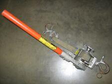 Chance Lineman 1 Ton Ratcheting Web Strap Hoist with Fiberglass Handle - #2