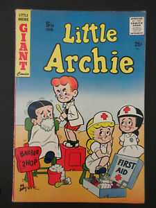 THE ADVENTURES OF LITTLE ARCHIE GIANT # 5 COMIC BOOK 1957 (6.0 FN) GREAT COVER!!