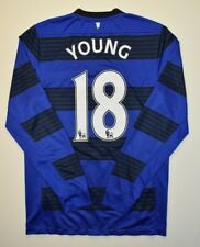 4.8/5 MANCHESTER UNITED #18 YOUNG 2012~2013 FOOTBALL THIRD JERSEY SHIRT NIKE