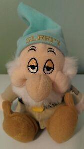 Walt Disney plush stuffed GRUMPY figurine