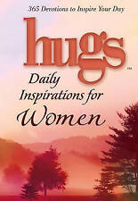 Hugs Daily Inspirations for Women: 365 devotions to inspire your day-ExLibrary