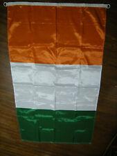 New listing Ivory Coast Cote D'ivoire Flag, Nylon w/ Hooks, 3' X 5', Weather Resistant