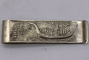 Vintage Tommy's Gems Thai Bangkok Thailand Advertising Money Clip