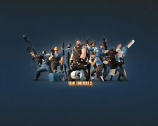 """Team Fortress 2 Game poster 17"""" x 13"""" Decor 19"""