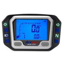 Acewell 3701 Digital Speedometer Tacho Speedo Pilot Lights suits Suzuki DRZ400