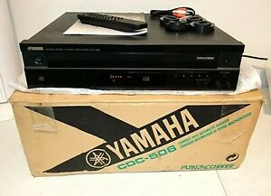 Yamaha CDC-506 5-CD Compact Disc Player Automatic Changer, EX w/BOX MANUAL+