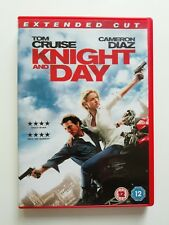 Knight and Day DVD - Tom Cruise, Cameron Diaz - Used Excellent Condition B6