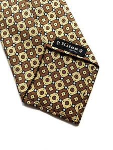 Kiton Napoli Tie 100% Silk Neck Tie.  Made In Italy