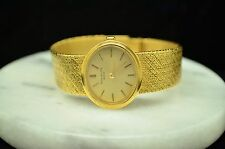 18K YELLOW GOLD PATEK PHILIPPE GOLDEN ELLIPSE LADIES BRACELET WRISTWATCH 3349/1