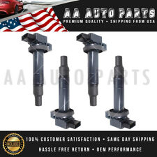 4x Ignition Coil 2001-2010 For Toyota Yaris Prius xA xB Echo 1.5L UF316