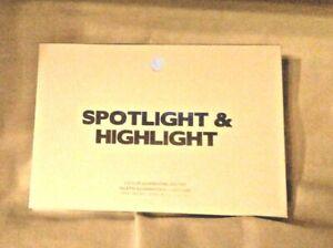 Spotlight Highlight - 6 Farben Highlighter Palette von BH Cosmetics