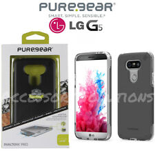 PureGear LG G5 Dualtek Extreme Pro Impact Protection Case Cover Black / Clear