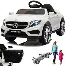 Mercedes GLA45 AMG Kinderauto Kinderfahrzeug Kinder Elektroauto mit Tür Weiss