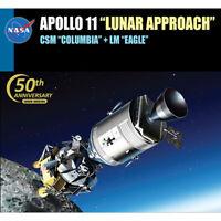 Dragon Plastic Model 11009 1/48 Apollo 11 Lunar Approach CSM Columbia + LM Eagle