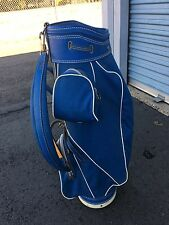 Burton Blue Cart Bag - Single Strap, 3-Way Divider - Super Clean Bag, Sweet!