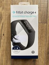 Brand New Boxed Fitbit Charge 4 Advanced Fitness Tracker Black