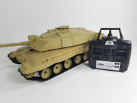 Heng Long Radio Remote Control RC Tank Challenger II 1/16th 2.4GHz TWIN SOUNDS