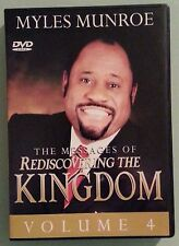 myles munroe  THE MESSAGES OF REDISCOVERING THE KINGDOM volume 4    DVD