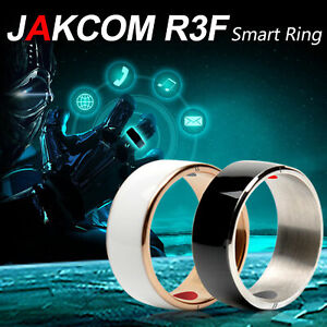 JAKCOM R3F Smart NFC Magic Ring for all Android and Windows Phone White Size 12