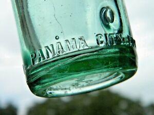Vintage PANAMA CITY FLA. Embossed CHERO COLA Soda Bottle - EARLY 1900's
