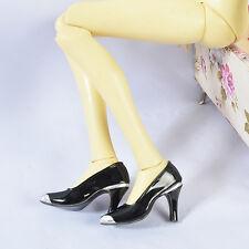 Slive-Black 1/3 BJD Iplehouse EID SID nYID girl Super Dollfie SD Female Shoes 12