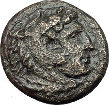 ALEXANDER III the GREAT 336BC Macedonia Ancient Greek Coin HERCULES CLUB i64961