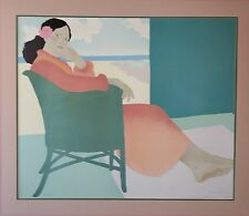 "Pegge Hopper Signed ""Lanikai Afternoon"" Original Serigraph Limited Edition"