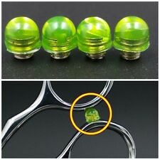 4x green Hair Scissors Stopper Rubber Bumper Replacement Barber Stylist Parts