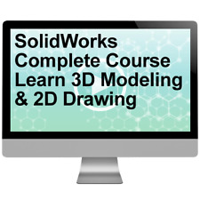 SolidWorks Complete Course Learn 3D Modeling & 2D Drawing Video Training