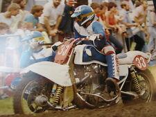Photo EML Yamaha #33 Smit / Vruggink Zijspancross Varsseveld 12 juni 1983 groot