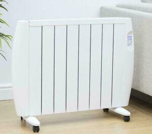 Eco Green Energy Efficient Ceramic Wall Heater Radiator Digital Control 1500W
