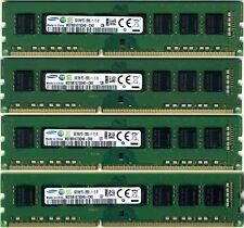 DIMM Samsung 4x 8gb DDR3 PC3-12800 1600 Mhz PC3-10600 NON-ECC DESKTOP 32GB KIT