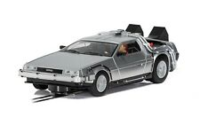 Scalextric Slot Car DeLorean - 'Back to the Future' C4117