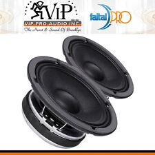 "Faital-Pro 8FE200 8"" Midrange Midbass 260W Professional Woofer Speaker 4Ohm PAIR"