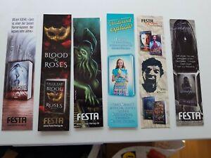 Lesezeichen Festa Verlag 6 Stück