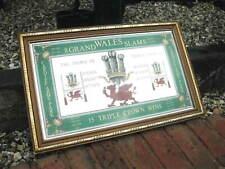 Wales Rugby ~ Vintage Pub Type Mirror ~ 1978 ~ 8 Grand Slams & 15 Triple Crowns