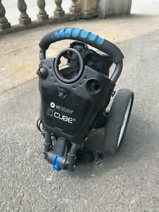 Motocaddy CUBE 3 Compact Golf Push Trolley - Great Condition + Travel Cover