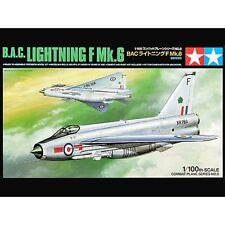 Tamiya 61608 B.A.C. Lightning F.Mk.6 1/100 scale plastic model kit