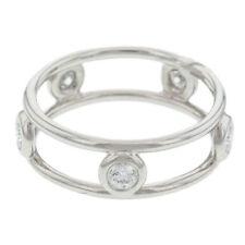 Tiffany & Co.. Diamond Platinum Band Fine Rings
