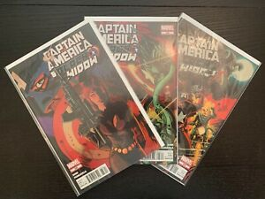 Captain America & Black Widow Lot Set 636-640 637 638 639 And +