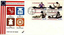 US FDC #`720a Skilled Hands, Early Spectrum (5120)aa