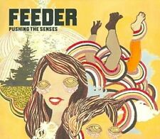 Feeder Pushing The Senses 2 Disc CD & DVD FASTPOST